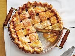 apple pie. Plain Pie Arkansas Black Apple Pie With Caramel Sauce On