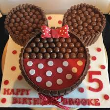 minnie mouse kit kat cake these are the best mickey mouse ideas