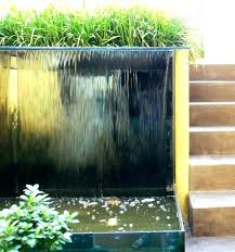 modern outdoor wall fountain large fountains water designs waterfall do it yourself founta