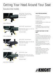 office chair controls. Office Chair Controls Adjustment Instructions Concept Design H