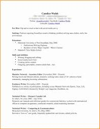 Ideas Collection Freelance Writing Resume Samples Elegant Free