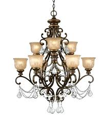 9 light chandelier bu cl 9 light chandelier in bronze umber 9 light golden teak crystal chandelier with bronze accents