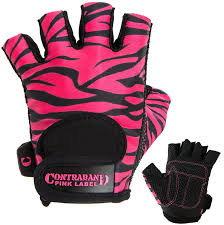 contraband pink label 5277 womens design series zebra print lifting gloves pair new and awesome awaits you read it now weight loss