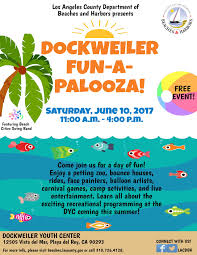 department of beaches harbors dockweiler fun a palooza event