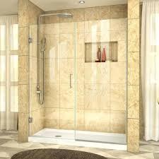 seamless shower medium size of seamless shower doors installation home depot cost pa lovely frameless glass