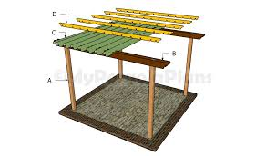 wood patio covers plans free. Patio Cover Plans Diy Attractive Ideas Of DIY Pergola Pertaining To 10 Wood Covers Free V