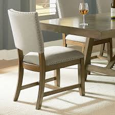 omaha dining table grey by standard furniture omaha upholstered side chair grey set of 2 by standard furniture
