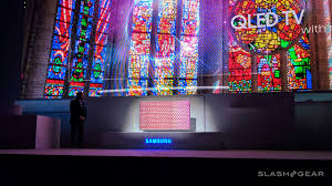 samsung tv qled. they\u0027ve made this clear in their presentation at ces 2017, suggesting that every tv released by samsung the year tv qled