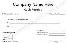 Cash Receipt Voucher Cash Receipt Voucher Format Cash Receipt ...