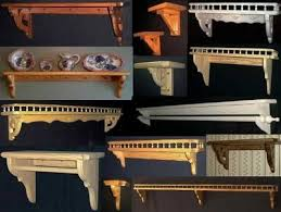 these are just some of the decorative custom made wood shelving units i made for my