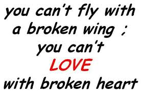 Quotes About Broken Love Fascinating You Can't Love With Broken Heart Legends Quotes