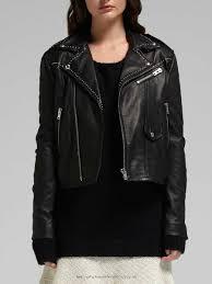 women clothing 70932425216001 iro blon stud leather jacket