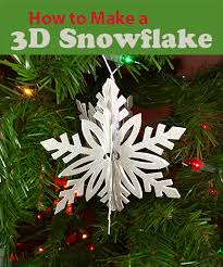 How To Make A 3d Snowflake How To Make 3d Snowflakes With Cricut Try It Like It