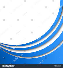 stylish page abstract blue circular stripes vector background stock vector