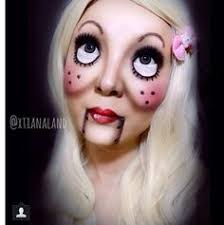 totally doing this one day scary doll makeup sfx makeup ventriloquist makeup puppet