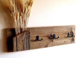 Reclaimed Wood Wall Coat Rack Image result for diy barn boardtowelrack House ideas Pinterest 12