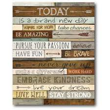 today textual art on wrapped canvas on brown wall art canvas with brown wall art you ll love