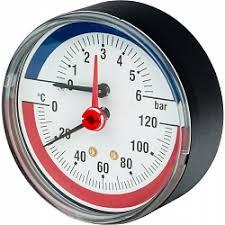 Контрольно измерительные приборы  10009466 03 32 006 tim80 0 6bar watts fr 818