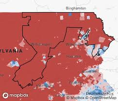 District Lines Size Chart The New Pennsylvania Congressional Map District By District