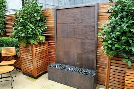 lovely outdoor wall fountain unique design modern idea clearance kit large with light diy canada