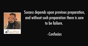 Preparation Quotes Awesome Success Depends Upon Previous Preparation Quote