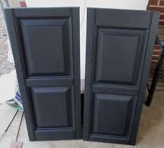 black vinyl shutters. Modren Shutters Image Is Loading BLACKVINYLRAISEDPANELEXTERIORSHUTTERS343 And Black Vinyl Shutters K