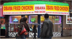 obama fried chicken watermelon. Interesting Fried From The Restaurantu0027s Perspective Name Change Grew Out Of Pride In  New President And A Keen Sense Commerce Other Perspectives It Was  With Obama Fried Chicken Watermelon C