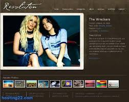 Album Theme Album Revolution2 Premium Wordpress