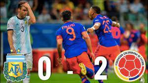 Argentina vs Colombia [0-2], Copa ...