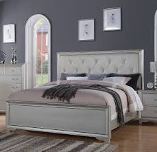 Hollywood Collection Silver Queen Bed