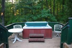hot tub deck. Hot Tub Decks: Design Blueprints And Ideas Deck