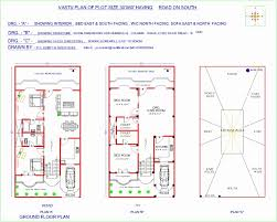free indian vastu home plans lovely house plan for south facing plot with two bedrooms of