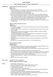 Sample Help Desk Support Resume Service Desk Support Resume Samples Velvet Jobs 24