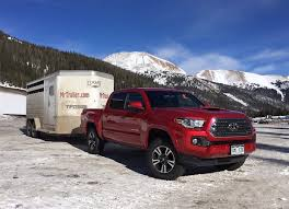 2017 Tacoma Towing Capacity Chart Can The 2016 Toyota Tacoma Tow Better Than The 2015 Tacoma