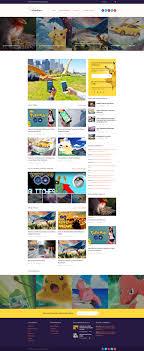 Pokemania – Game Portal Pokemon WordPress Theme – Zemez