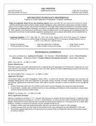 Sql Programmer Sample Resume Extraordinary Pl Sql Resume Sample Engneeuforicco
