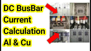 Electrical Bus Bar Ampacity Chart How To Calculate Current Carrying Capacity For Dc Busbar Hd