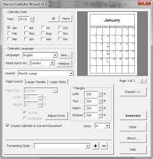 Calendar Wizard 2015 How To Generate Calendar In Coreldraw Nollytech