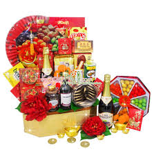 Small Picture Chinese New Year Hamper Golden Celebration Toko Bunga Online