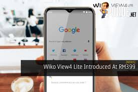 Wiko View4 Lite Introduced At RM399 ...