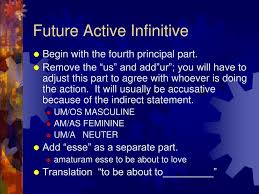 Latin Infinitives Chart Ppt Infinitives Powerpoint Presentation Free Download