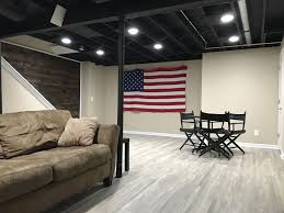 Beneficial Basement Ceiling Painted Black 30 In Home Decor Ideas with Basement  Ceiling Painted Black