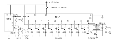 delay10 gif the counter and energizing the relay longer delay times can be obtained a larger capacitor or larger resistor at pins 2 and 6 of the 555 timer
