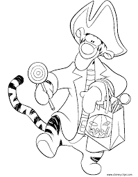 Small Picture Disney Halloween Coloring Pages Disneys World of Wonders