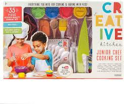 Amazon.com: CrEATive Kitchen Junior Chef Set: Toys & Games