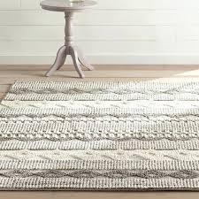 hand tufted gray ivory area rug and zebra