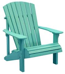Poly Furniture Deck Chairs LuxCraft Deluxe Adirondack Chair