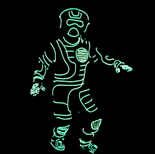 Tron Light Up Clothing Light Up Costume 6 Steps With Pictures Instructables