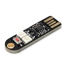 10Pcs <b>SANWU</b>® <b>Mini USB Colorful</b> LED Nightlight Board For Power ...