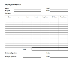 timecard hours timesheet calculator work hours sheet template